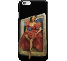 Pin-up Mirror iPhone Case/Skin