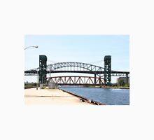 Burlington Skyway Bridge, Burlington Canal and Lift bridge in Ontario, Canada. T-Shirt