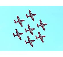 Aerobatic formation Snowbirds Photographic Print
