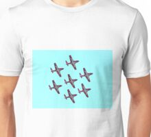 Aerobatic formation Snowbirds Unisex T-Shirt
