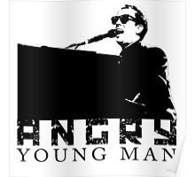 Billy Joel Angry Young Man Poster