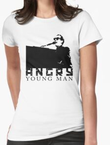 Billy Joel Angry Young Man Womens Fitted T-Shirt