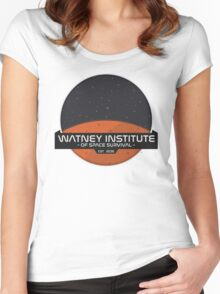 Mark Watney Institute - The Martian Women's Fitted Scoop T-Shirt