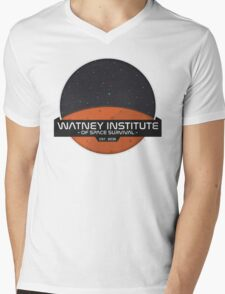 Mark Watney Institute - The Martian Mens V-Neck T-Shirt