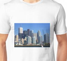 Financial district of Toronto. Unisex T-Shirt