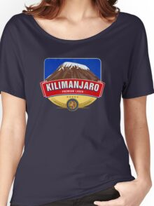 KILIMANJARO LAGER BEER TANZANIA Women's Relaxed Fit T-Shirt