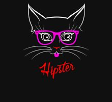 Hipster Kitty Cat Women's Relaxed Fit T-Shirt