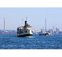 Ferryboat transportation. Photographic Print