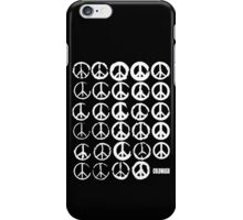 PEACE SIGNS & COFFEE STAINS iPhone Case/Skin