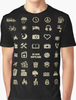 Iconspeak - Travel Icon for World Travellers 2 Graphic T-Shirt