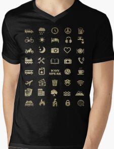 Iconspeak - Travel Icon for World Travellers 2 Mens V-Neck T-Shirt