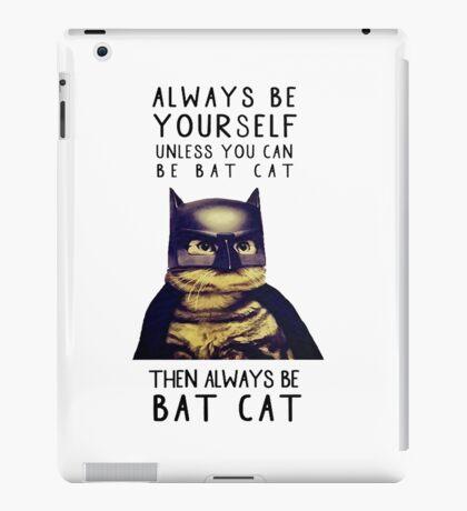 Cat meow super heroes iPad Case/Skin