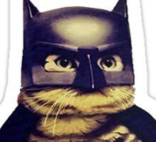 Cat meow super heroes Sticker