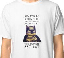 Cat meow super heroes Classic T-Shirt