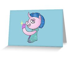 SelfieCorn Greeting Card