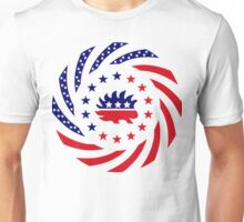 Libertarian Murican Patriot Flag Series Unisex T-Shirt