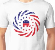Republican Murican Patriot Flag Series Unisex T-Shirt