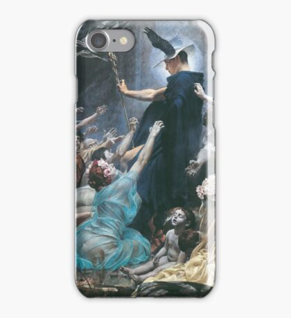 Souls on the Banks of the Acheron by Adolf Hirémy-Hirschl iPhone Case/Skin