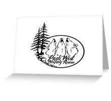 Welcome to the Pack Greeting Card