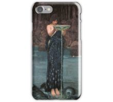 Circe Invidiosa by John William Waterhouse iPhone Case/Skin