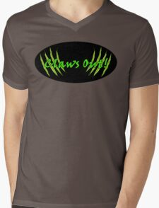 Claws Out! Mens V-Neck T-Shirt