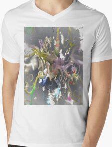 Daydream Mosaic Wonderland Mens V-Neck T-Shirt