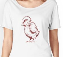 Red Chick Women's Relaxed Fit T-Shirt