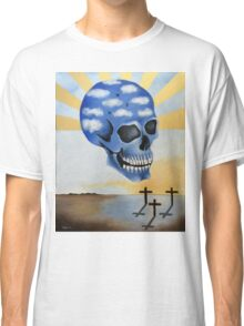 Surreal Skull Classic T-Shirt