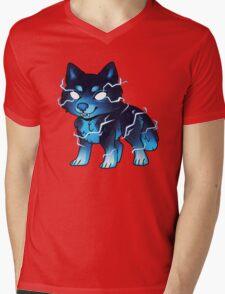 Skoll Pup Mens V-Neck T-Shirt