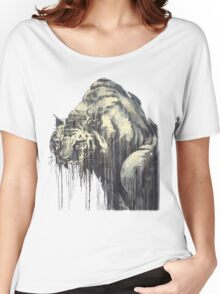 Tiger - Melting Tiger Women's Relaxed Fit T-Shirt