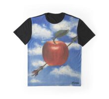 Apple With Arrow Graphic T-Shirt