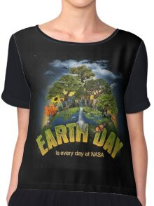 Earth Day 2016 Chiffon Top