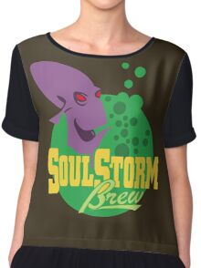 Oddworld - Soulstorm Brew Logo Chiffon Top