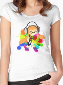 Splatoon - Inkling Girl Women's Fitted Scoop T-Shirt