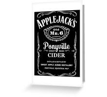 Applejack's Sweet Mash Cider Greeting Card