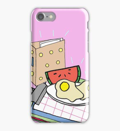 Office Breakfast iPhone Case/Skin