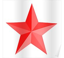 RED STAR, Red Star sectioned Poster