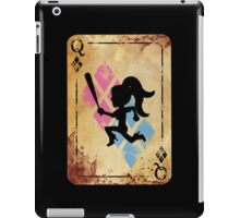 Harley the Hatchet Girl w/ Baseball Bat  iPad Case/Skin
