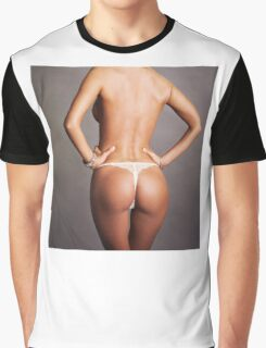 sexy nude erotic glamour girl model 28 Graphic T-Shirt
