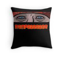 Archer - Rampage Throw Pillow