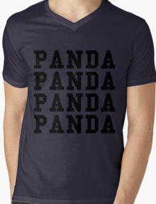 Panda Panda Desiigner - Black Text Mens V-Neck T-Shirt