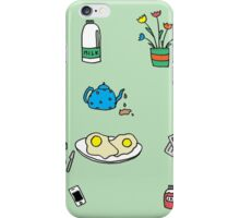 Breakfast table  iPhone Case/Skin