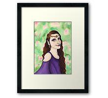 Elven Princess Framed Print