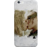 Clexa Kiss - The 100 - draw iPhone Case/Skin