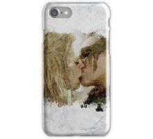 Clexa Kiss - The 100 - draw iPhone Case/Skin