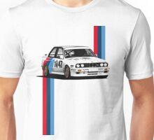 e30 WTCC Race Car with Verticle Stripes Unisex T-Shirt