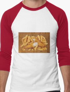 FISH AND CHIPS Men's Baseball ¾ T-Shirt