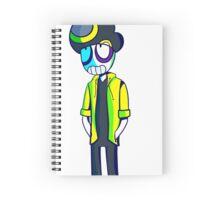 Rebel taxi Spiral Notebook