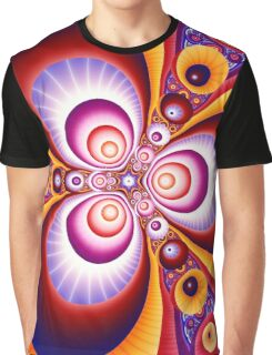 Colorful fractal Graphic T-Shirt