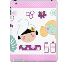 Beauty and spa design elements iPad Case/Skin